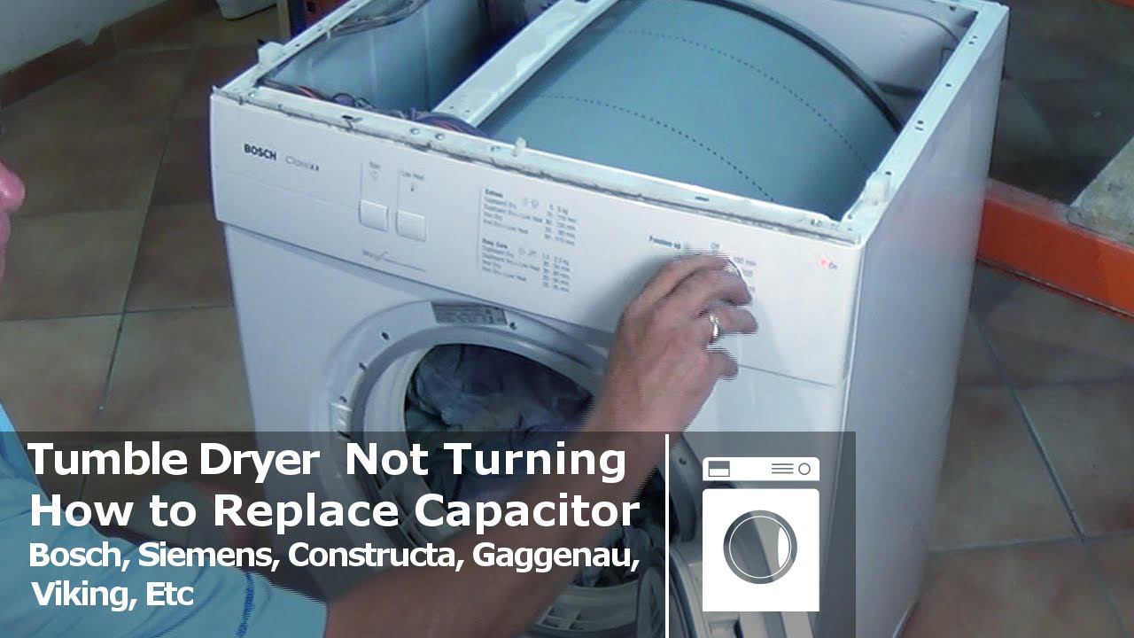 Bosch Tumble Dryer Not Turning Siemens Constructa  YouTube