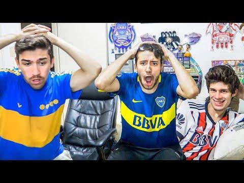 Cruzeiro vs Boca | Cuartos VUELTA - Copa Libertadores 2018 | Reacciones de Amigos