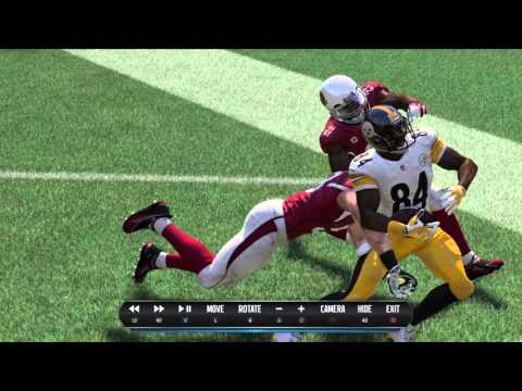 Madden NFL 16 can Antonio Brown do the Santonio Holmes catch from super bowl 43