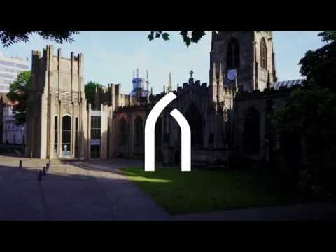Sheffield Cathedral Drone Film
