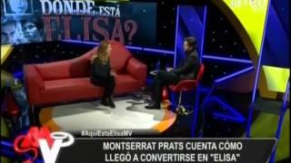 """Montserrat Prats: """"Lo pasé mal por el acoso de la prensa"""""""