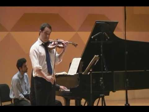 Giora Schmidt, Debussy Clair de Lune for Violin & Piano