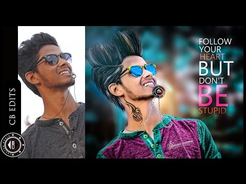 Awesome CB editing | How to edit like CB edits | Photoshop CC Tutorial