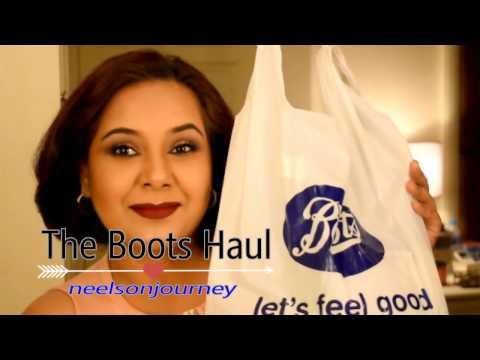 BOOTS HAUL + Watsons / Srichand, Skinfood, Maybelline, Seventeen Makeup, Soap & Glory