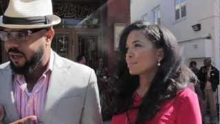 Rockmond Dunbar And Maya Gilbert At 2013 Gospel Goes To Hollywood