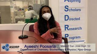 Researcher Interview: Ayeeshi P., Chemical Biology