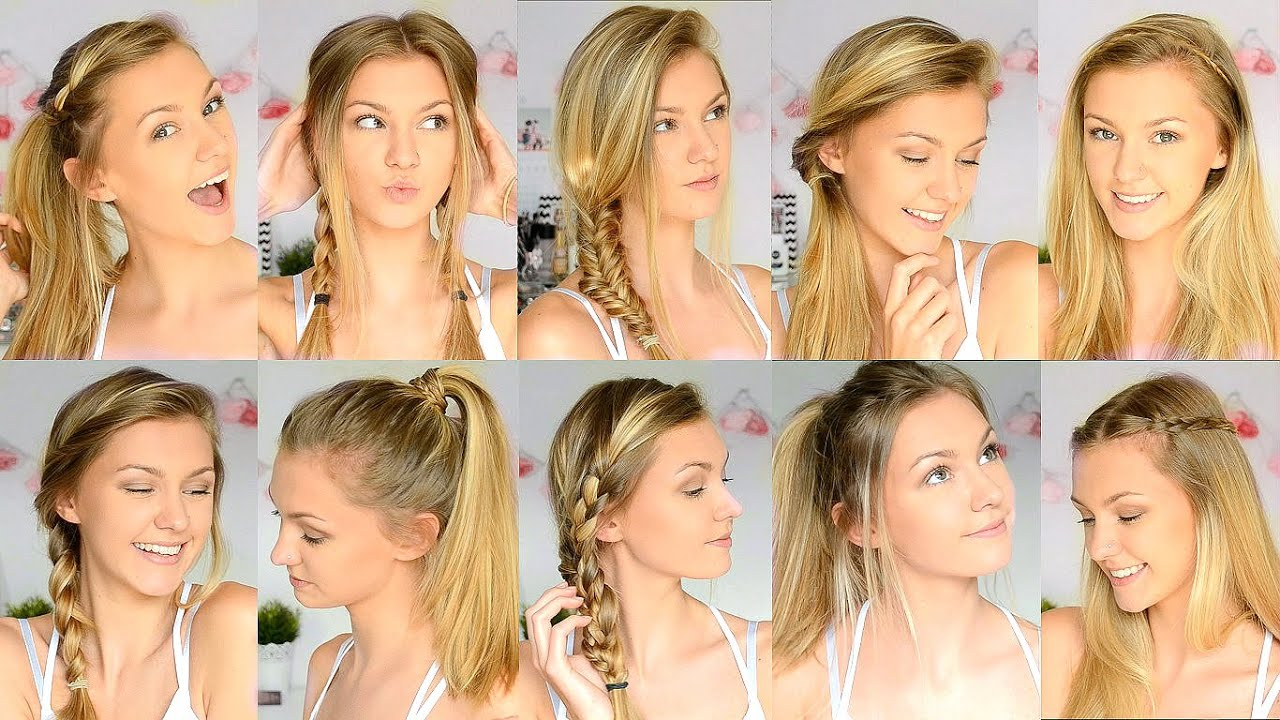 12+ pretty & easy school hairstyles for girls - the