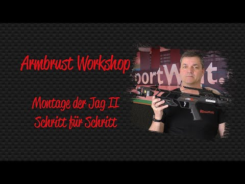 Armbrust Workshop: Crossbow Jag II zusammenbauen und erster Schusstest nach der Montage