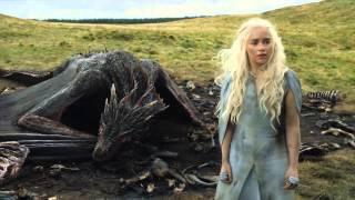 Daenerys con Drogon - Reencuentro con Dothraki | Juego de Tronos Español HD