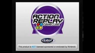 gamecube menu action replay re3