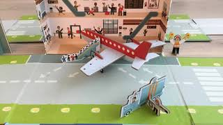 My Airport Stop Motion Movie Clip