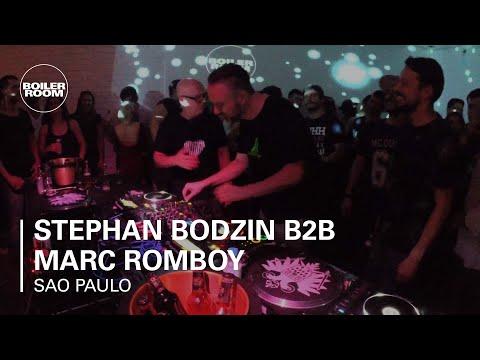 Stephan Bodzin B2B Marc Romboy Skol Beats x Boiler Room Sao Paulo DJ Set