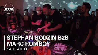 Stephan Bodzin B2B Marc Romboy Skol Beats x Boiler Room Sao Paulo