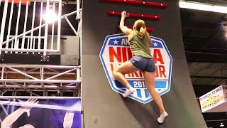 The Smallest Female Ninja Warrior! - Obstacle Course Challenge VidCon 2017