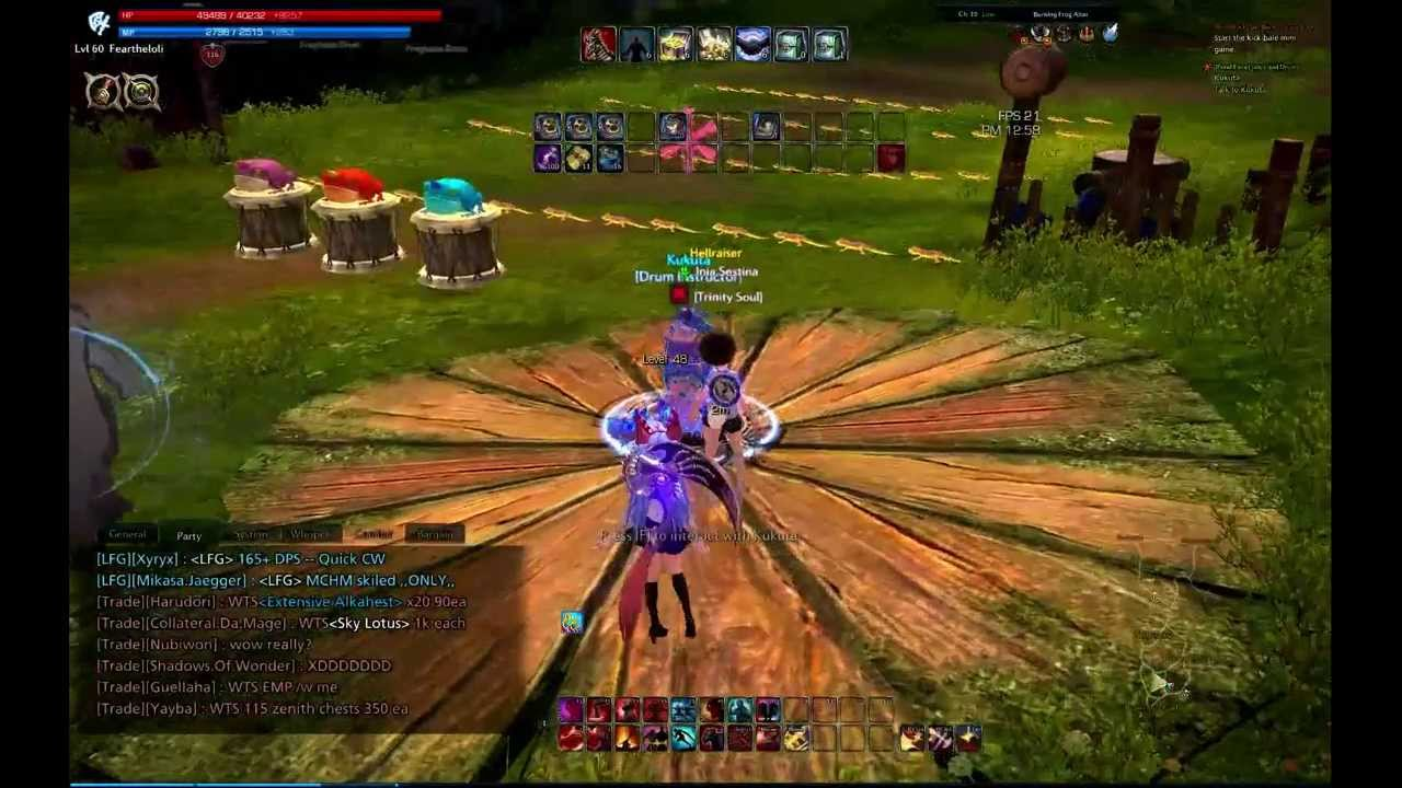 tera online festivals rootstock pond faire youtube