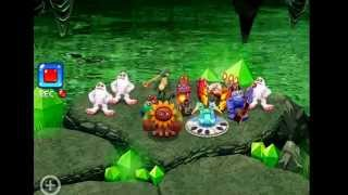 My singing monsters dawn of fire - cave island FULL SONG