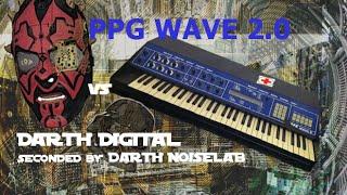 PPG WAVE 2 (NOT 2.2 or 2.3!) digital-analog hybrid synthesizer vs Darth Digital
