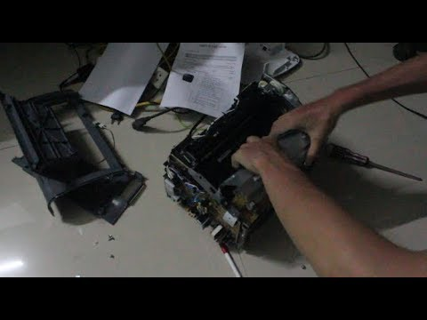Lắp máy in canon 2900 nhanh vài phút  canon lbp 2900 repair manual