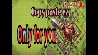 How to copy and paste base in clash of clans|in hindi