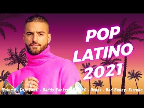 Maluma, Luis Fonsi, Daddy Yankee, Ricky Martin, Shakira, Nicky Jam - Pop Latino 2021 Los Mas Nuevo