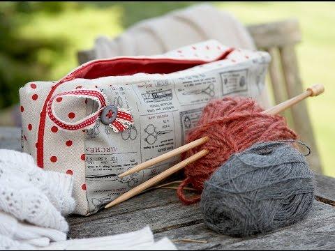 knitting needle case tutorial by Debbie Shore