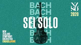 Gambar cover NZSO: Bach Sei Solo in association with New Zealand Van Lines - 3 June 2020