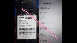 Symphony Inova Flash File (HW1_V9) MT6735 7.0 After Flash Dead Fix Customer Care Firmware