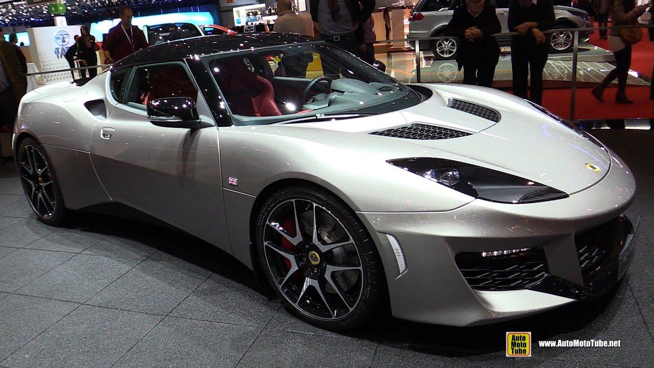 2016 Lotus Evora 400   Exterior And Interior Walkaround   2015 Geneva Motor  Show   YouTube