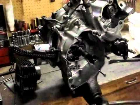 Yamaha 350 Engine Teardown Part 1 of 3 - YouTube