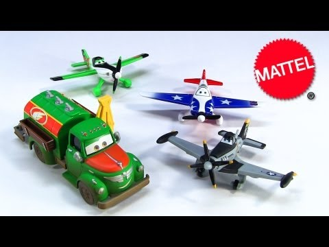 4 Disney Planes Jolly Wrenches Dusty Crophopper 86 LJH Special ZED CHUG 2013 Mattel Die-Cast Toy