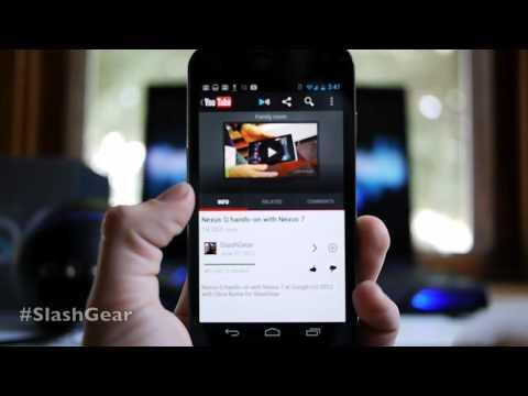 google nexus q hands on review by chris burns for slashgear alex google tel