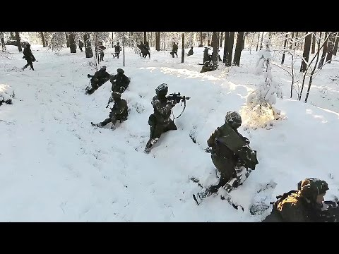 NATO Prepares to Face Russia: Military Exercise in Lithuania