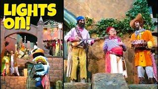 Pirates of the Caribbean Lights On, Sound Off- Disney World Breakdown!