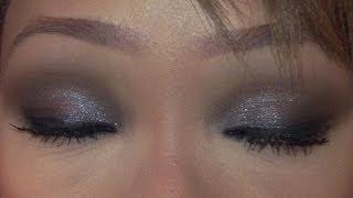 Shimmering Smokey Eye