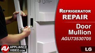 LG Refrigerator - Door Mullion heater assembly