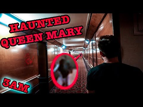 (CREEPY) GHOST HAUNTING IN QUEEN MARY SHIP ROOM B340 | GHOST HAND PRINTS FOUND IN THE ISOLATION ROOM