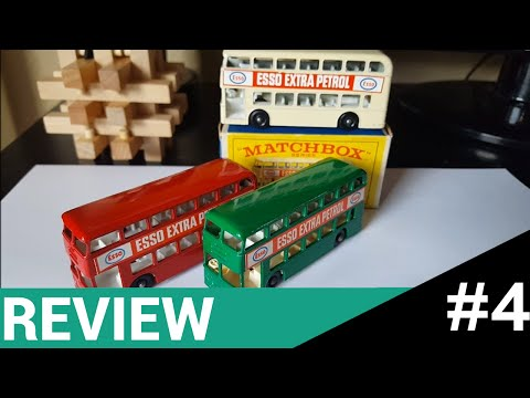Matchbox Lesney #74b Daimler Bus (Review #4)