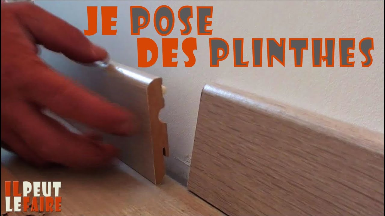 tuto pour apprendre a poser des plinthes il peut le faire youtube. Black Bedroom Furniture Sets. Home Design Ideas
