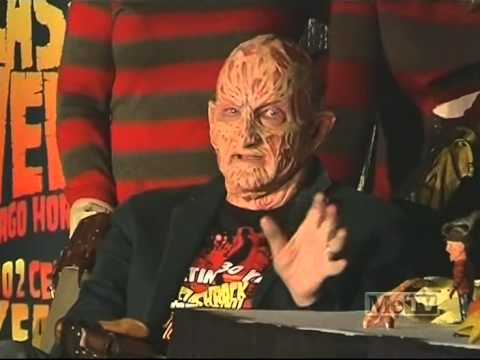 Svengoolie Flashback Weekend Robert Englund in Freddy MakeUp Part 1