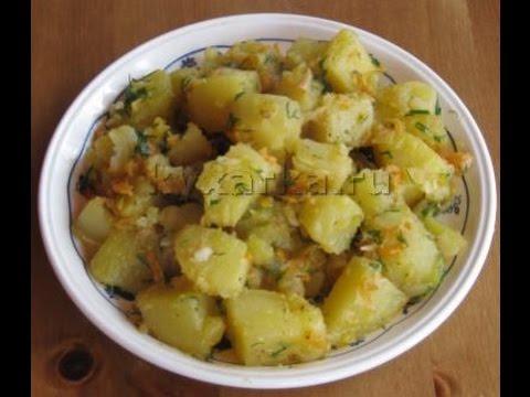Картофель тушеный по-деревенски