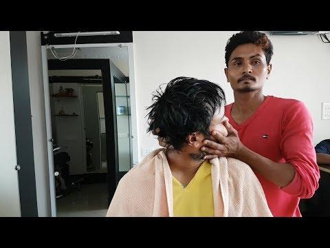 ASMR Pain killer head massage - no talking