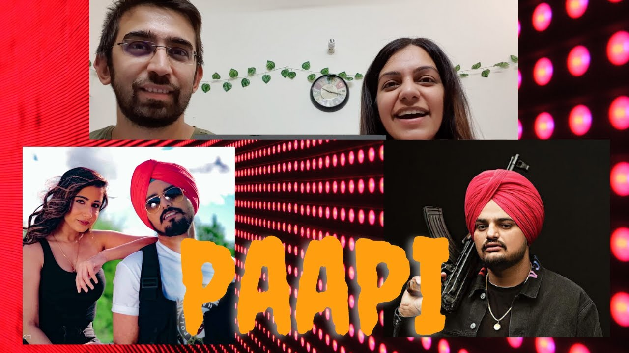 Paapi song reaction Rangrez Sidhu | Sidhu Moose Wala | Kidd | Gold Media | Latest Punjabi Songs 2020