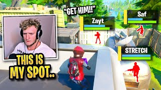 PROS *FURIOUS* After TFUE REFUSES to Give Up This Spot! (Fortnite)