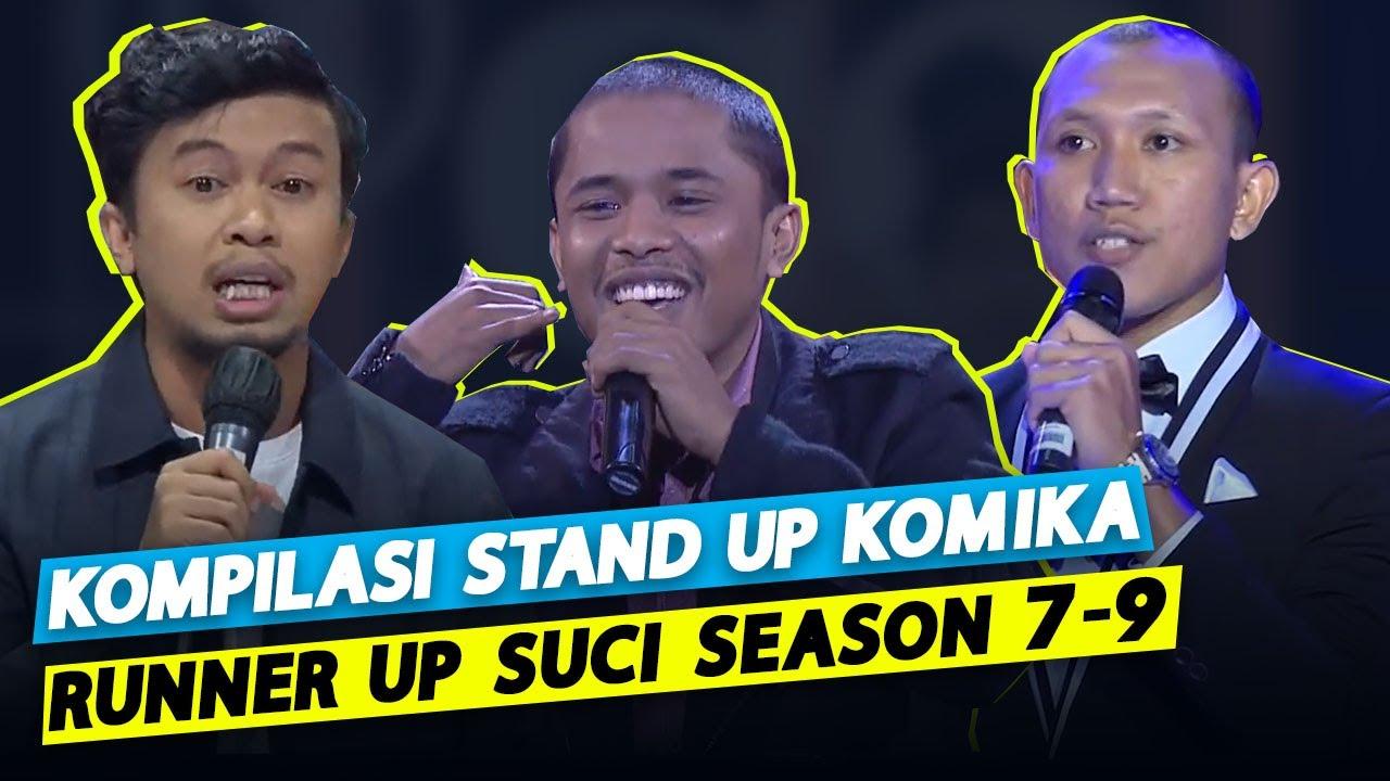 Kompilasi Stand Up Komika Runner Up SUCI Season 7-9