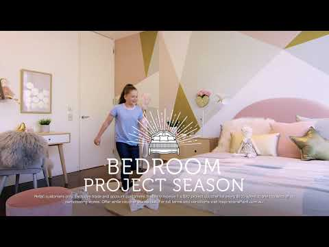 Bedroom Project Season at Inspirations Paint