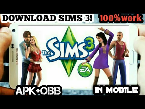Sims 3 Download For Android Apk+obb Work | How To Download Sims 3 For Android Apk+obb Working 100%