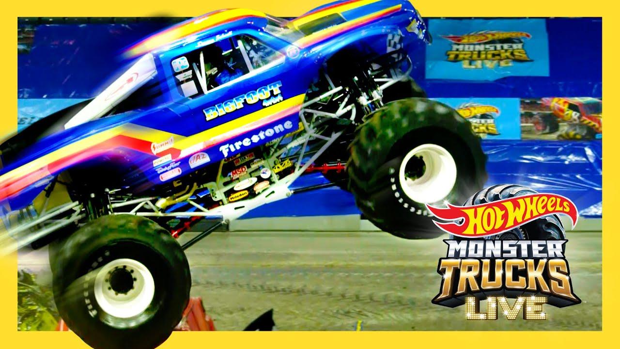 BIGGEST MONSTER TRUCK EVER BUILT!? | Monster Trucks LIVE | @Hot Wheels
