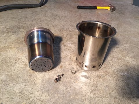 1/1 DIY WOODPECKER  Small Camping, Wood Gas, Pellet, Stove $28 How To ALL SS  Easy Portable Cheap