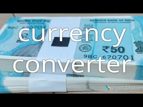 Currency Converter Malayalam Video