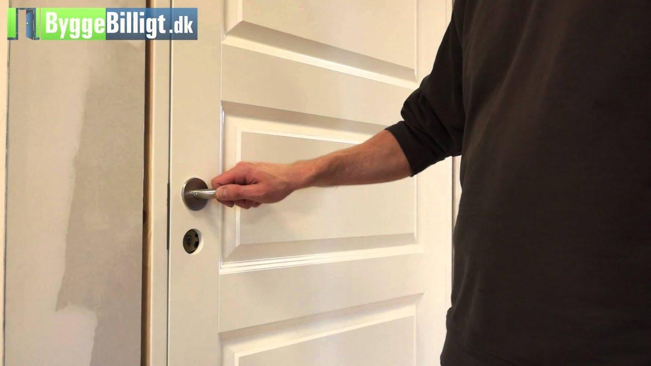 justering af dørhængsler